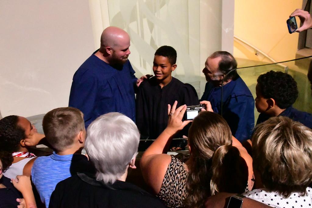 August 2017 Baptisms