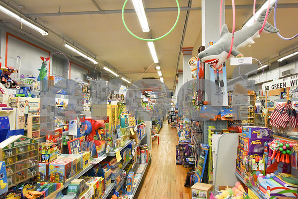080317 Wesley Bunnell | Staff Amatos Toy and Hobby Store in downtown New Britain on Thursday afternoon.