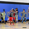 081117  Wesley Bunnell | Staff<br /> <br /> Boys jump out of the way during a game of dodge ball at The Boys & Girls Club of New Britain on Friday afternoon. Dario Cortes, L, Luke Steiner , Shawn Keaton, middle, Jowel Carrasquillo and Alexis Rivera.