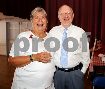 8/31/2010 Mike Orazzi | Staff Patti Ewen and Bill Veits while at the Crocodile Club at Lake Compounce on Tuesday afternoon.