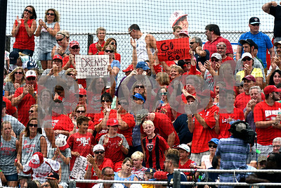 8/12/2017 Mike Orazzi | Staff Fans during the New England final Saturday at Breen Field.