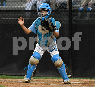 8/12/2017 Mike Orazzi | Staff Maryland's DJ Shipton (35) during the Mid-Atlantic Regional Final at the Eastern Regional Little League Tournament at Breen Field in Bristol Saturday night.