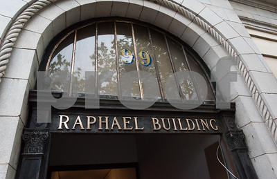 081817  Wesley Bunnell | Staff  Renovations to the Raphael Building at 99 West Main St. are being completed with a ribbon cutting to be held next Wednesday.
