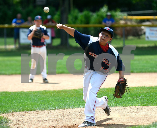 8/19/2017 Mike Orazzi | Staff McCabe Waters' Anthony Ricciuti (12) Saturday during the City Series.