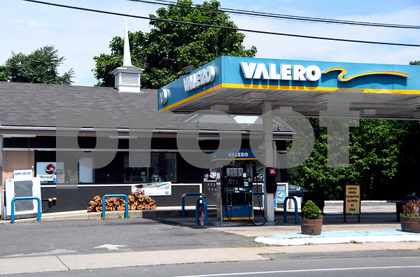 8/4/2017 Mike Orazzi | Staff The Valero gas station on East Main Street in Plainville.