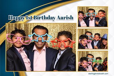 Aarish's 1st Birthday