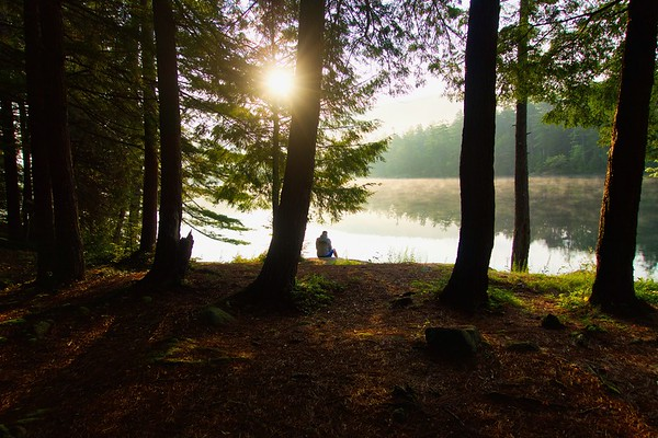Pharaoh Lake with Bob, Adirondacks, NY