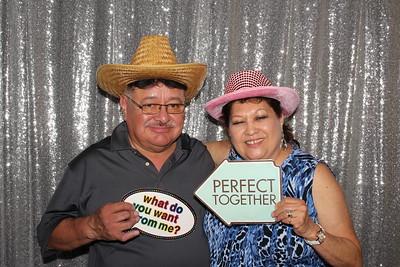 Beautiful Santa Fe wedding with ShutterBooth