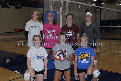 Northland Pines Volleyball Returning Letterwinners