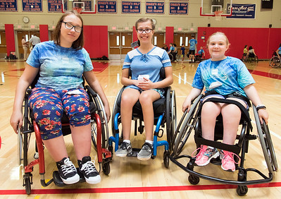 08/08/18  Wesley Bunnell | Staff  The Hospital for Special Care is holding its Ivan Lendl Adaptive Sports Camp this week at Berlin High School.  The camp is held every summer for youth with physical disabilities ages 6-19. Friends and campers Natalia Jablonski, L, Maggie Fusco and Sarah Reid.