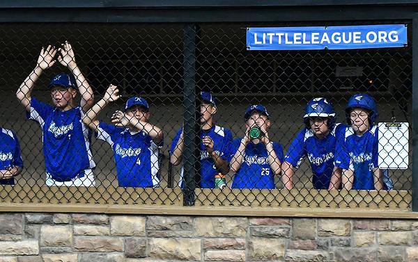 8/9/2018 Mike Orazzi | Staff Keystone Little League at Breen Field in Bristol during Thursday evenings 2018 Eastern Regional Little League Baseball Tournament.