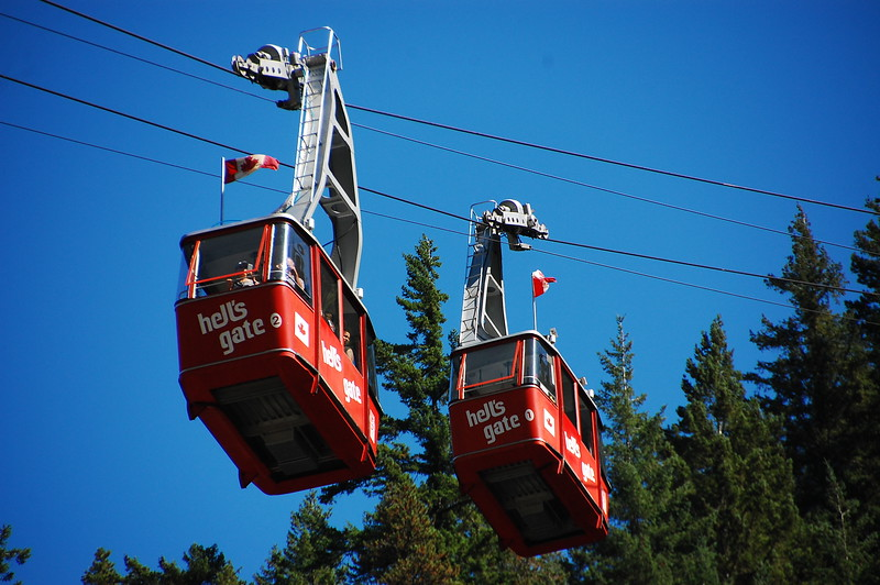 Day 3<br /> <br /> Hell's Gate cable cars.