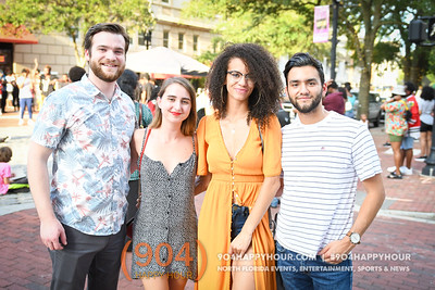 Art Walk - Downtown Jacksonville - 8.7.19