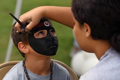 One teenage mutant ninja turtle face coming up. . .