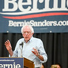 Bernie Sanders speaks to a full house at the Chico Masonic Lodge on Thursday, August 22, 2019, in Chico, California. (Matt Bates -- Enterprise-Record)