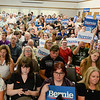 Sen. Bernie Sanders supporters pack the Chico Masonic Lodge on Thursday in Chico. (Matt Bates -- Enterprise-Record)
