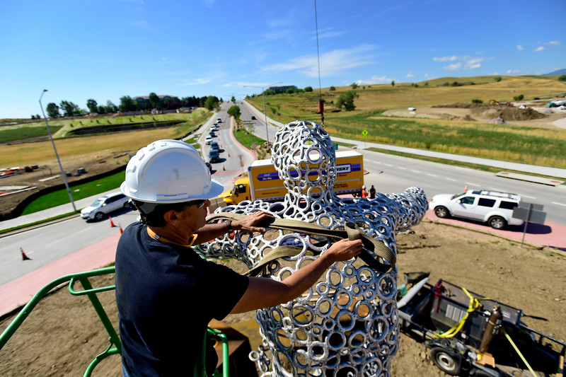 Sculpture Installed in Superior Roundabout