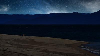 Doe - Bedarra Island Beach Nightfall. 1.
