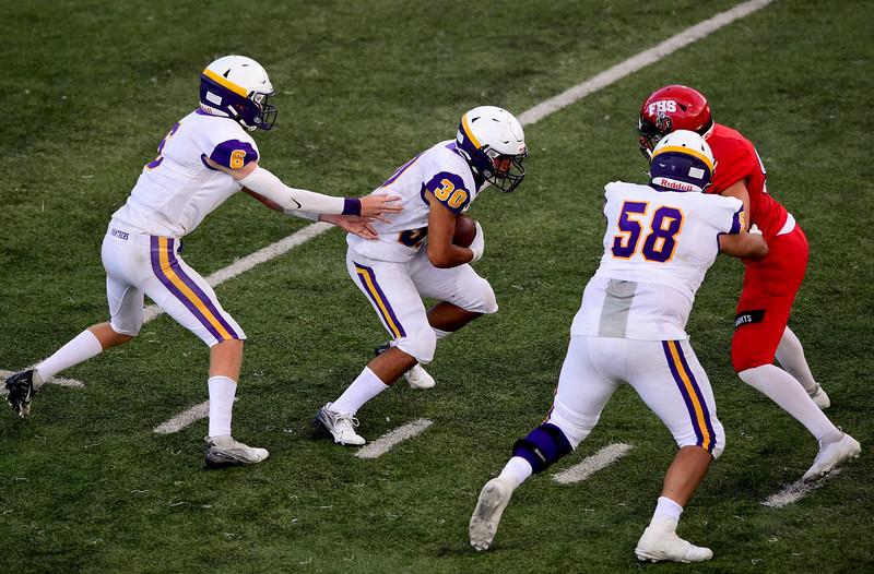 Boulder Vs. Fairview High School Football
