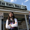 Zack Frediani works at The Vinyl Vault in Littleton, which sells records including LPs and 45s, as well as cassettes and DVDs. His father Greg Frediani owns the store.  SUN/Julia Malakie