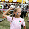 "Ava Eden pegged the target at the ""Dawg Tank"" at the St. Anthony Parish Picnic Sunday afternoon.<br /> Tony Huffman photo"