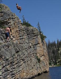 Backflip Cliff