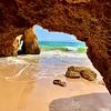 Beautiful Alvor Caves