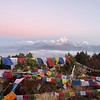 Annapurnas at sunrise from Poon Hill