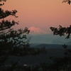 Mount Baker at sunset. Photo credit Val and Leslie Veirs.