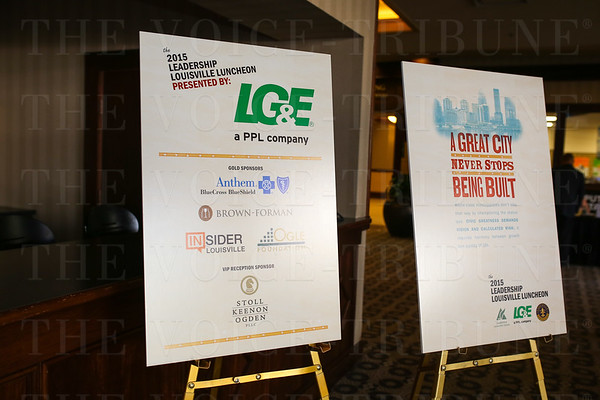 August Leadership Louisville Luncheon 2015