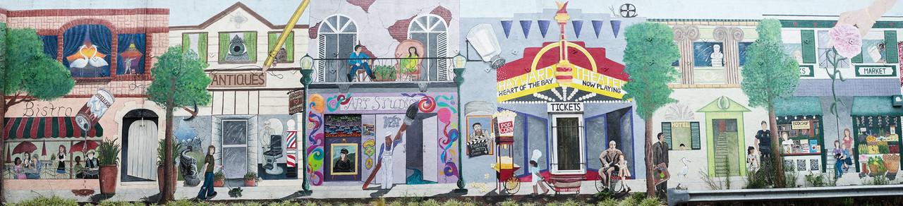 Mural B Street