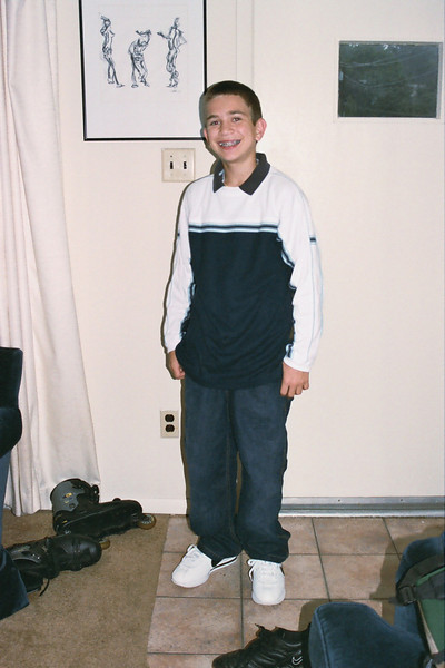 first day of school 2003...let's see...what grade would you have been in?!?!