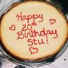8.26.2003  stu's birthday cake