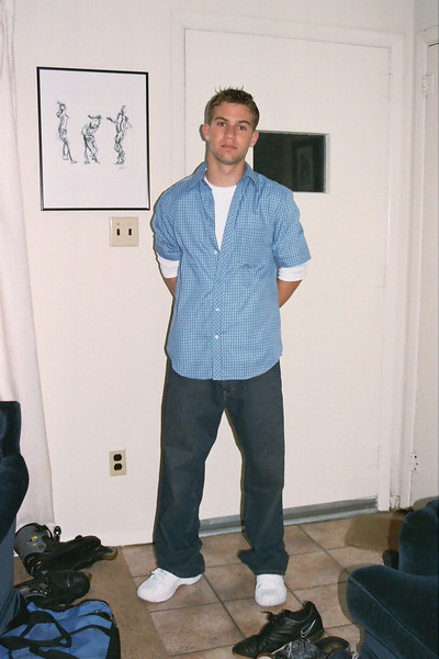 first day of school 2003...and they're still appeasing me and allowing me to take pictures
