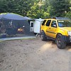 Camped at Providence Bay Tent and Trailer Park.