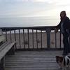 Joce and Guzzi, Prov beach board walk.