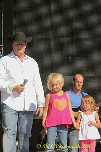 Gord Bamford with daughters