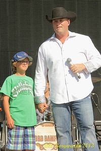 Gord Bamford with son, Nash