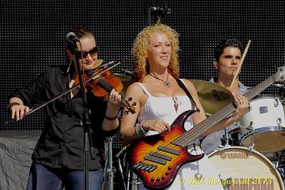 Allison Granger, Lisa Dodd, Ben Bradley - Gord Bamford band