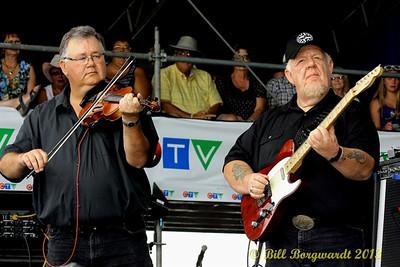 Calvin Vollrath & Redd Volkaert - Danny Hooper band