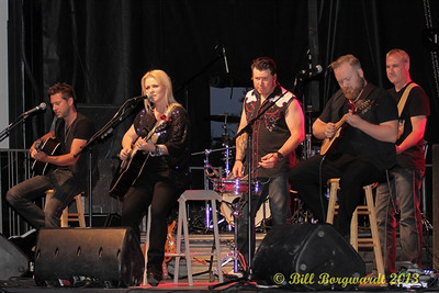 Carolyn Dawn Johnson and her band