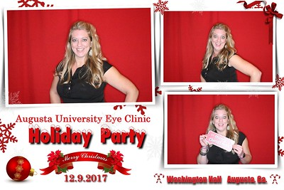 2017.12.09 Augusta University Eye Clinic Holiday Party