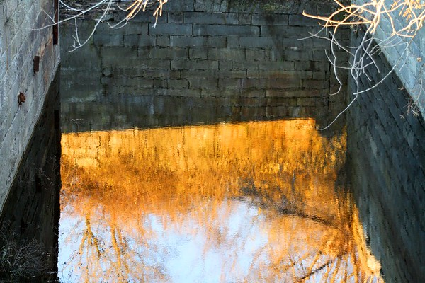 10.11.11 Old Canal on Kennebec River
