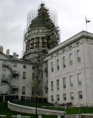 14.05.18 Augusta - Replacement of Copper Roof on State Capitol Dome