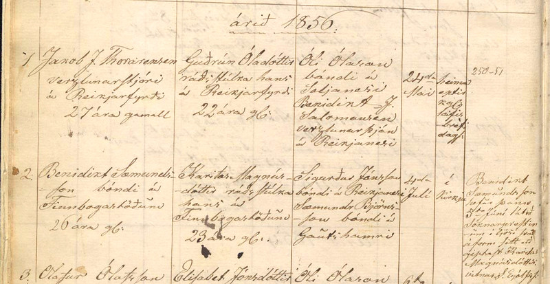 1856 Gifting BenSæm/Karitas