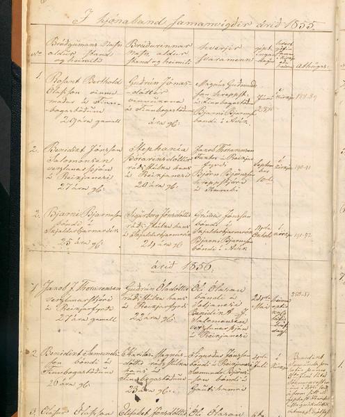 1856-BenSæm-Karitas-giftast