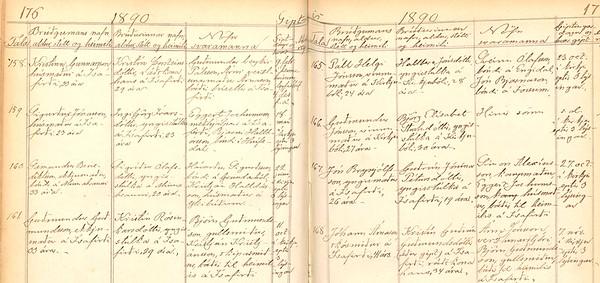 1890 kb Eyri Gifting Sæm og Sigr