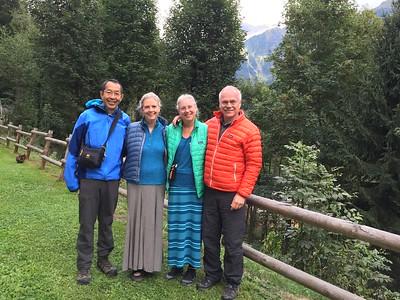 Pre-hike - Geneva to Les Houches.