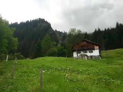 Stage 2, day 1  Miage to Refugio Nant-Borrant