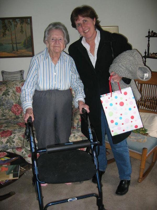 aunt grace and georgene jan 2005